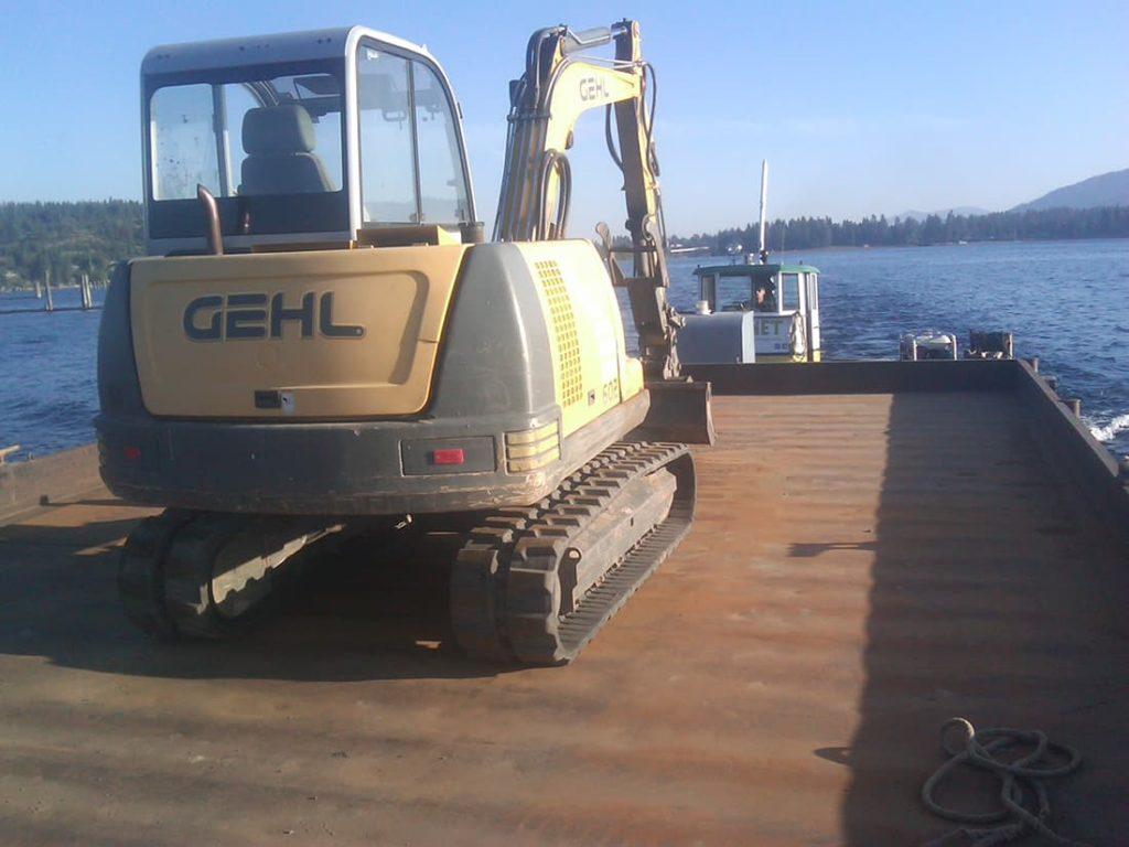 four-seasons-excavating-excavator-barge